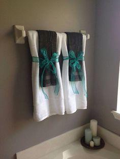 25 Kreativ Einfache Dekorative Handtücher Für Badezimmer Ideen #badezimmer  #dekorative #einfache #handtucher
