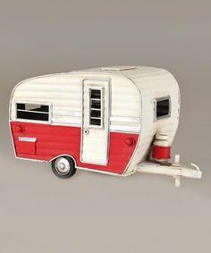 Loving this Vintage Camper Ornament on #zulily! #zulilyfinds