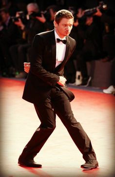 Jeremy Renner ~Moves like Renner. Also, Renner is a palindrome.~
