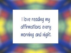 Daily Affirmation for August 16, 2013