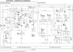 john deere wiring diagram on and fix it here is the wiring for that rh pinterest com Kawasaki Electrical Diagrams Kawasaki 300 ATV Wiring Diagram
