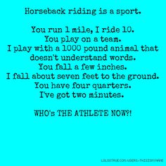 Academic Equestrian: Don't Judge a Sport By Its Meme