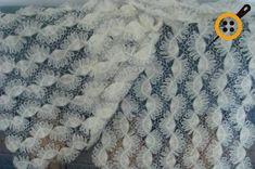 Firkete şal modelleri Crochet Baby Dress Pattern, Baby Dress Patterns, Knitting Patterns Free, Free Knitting, Crochet Patterns, Crochet Stitches, Knit Crochet, Hairpin Lace Crochet, Cable Knit Hat