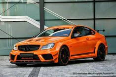 In anticipation of Halloween, there is a Mercedes-Benz vehicle, the 2013 AMG Black Series that is so wild, it's scary-good. Mercedes Benz W204, Gts Amg, C63 Amg Black Series, Benz Suv, Amg Car, C 63 Amg, Super Sport Cars, Motor Car, Halloween