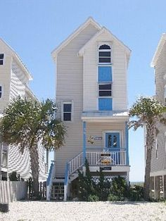 St George Boardwalk Beach House - FL Rental - always loved these places! :)