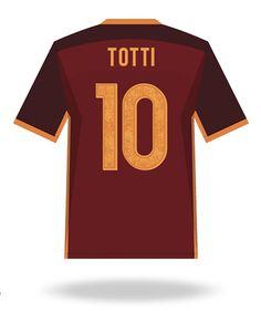 Francesco Totti of AS Roma wallpaper.