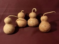 Gourds 4 Pretty Bottle/Snowman Gourds Item 13 by ridgetopcottage, $16.00