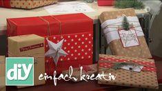 Geschenke schnell und einfach verpacken | DIY einfach kreativ
