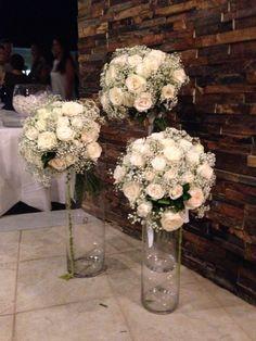 Flower arrangements by Fleurs ! Venue wedding