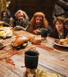 At Beorn's table
