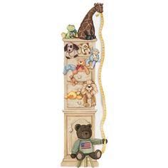 Mural Portfolio II Custom Plush Toy Growth Chart Mural