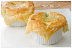Individual Chicken Potpie Goodness