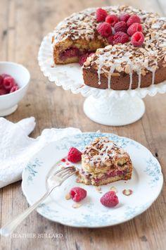 Raspberry Almond Coffee Cake