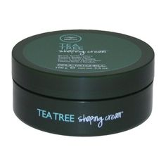 Paul Mitchell Tea Tree Shaping Cream! What did we do before this? Mix a pea size amount with Tea Tree Firm Hold Gel and short and curly hair transform into beautiful styles with the flip of your fingers!