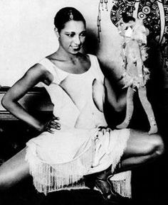 Josephine Baker and her little me.
