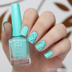 Esmalte Pop You Da Ana Hickmann E A Película Modern Art Turquoise Nails Geometric Stamp Nail Design Unhas Geométricas Decoradas By
