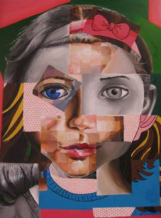 Mix It Up by ~ambrabealey on deviantART Magazine Collage, Magazine Art, Cubist Portraits, Gcse Art Sketchbook, Ap Studio Art, A Level Art, Art Portfolio, Figure Painting, Art Studios