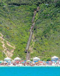 beach of Brazil: Praia do Atalaia - Arraial do Cabo - Rio de Janeiro Photo thanks to @alexandrepizano #discoversouthamerica