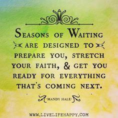 Season of Waiting !