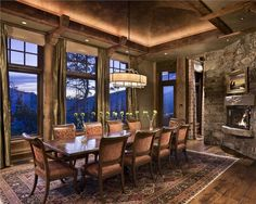 24 Totally Inviting Rustic Dining Room Designs   Page 4 Of 5