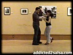 ▶ Salsa Dance Lesson : The Submarine Move - YouTube