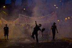 Greece crisis: Athens protests turn violent