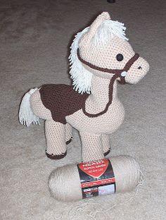 #107 Perfect Pony by Jennifer Down Under   Crochet Toy Patterns