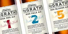 Package Design - McGrath's Premium Ales