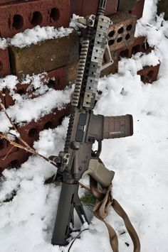 MK18 in the snow