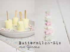 Lililotta The Blog: Buttermilch-Zitronen-Eis am Stiel