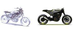 KISKA Husqvarna Motorcycles 401 VITPILEN - Transportation Design