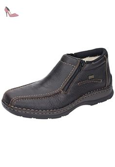 Rieker 05382 hommes Bottes cuir, marron, Taille 42 - Chaussures rieker (*Partner-Link)