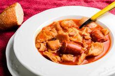 Recipe of Callos a la Madrileña - Recipes Cook Spanish Stew, Spanish Cuisine, Spanish Dishes, Tapas Recipes, Mexican Food Recipes, Dinner Recipes, Cooking Recipes, Ethnic Recipes, Spanish Recipes