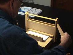 ▶ Basic DIY Book Binding Demonstration - YouTube