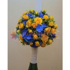 lumanari cununie hortensie si trandafiri Hanukkah, Wreaths, Home Decor, Decoration Home, Door Wreaths, Deco Mesh Wreaths, Interior Design, Garlands, Home Interior Design