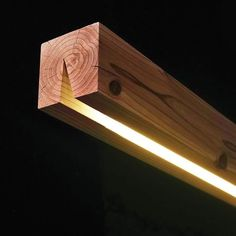 Holz Lampen - Haus How to Crafts Wood lamps Wood Interior Lighting, Home Lighting, Lighting Design, Lighting Ideas, Hidden Lighting, Woodworking Plans, Woodworking Projects, Woodworking Videos, Woodworking Chisels