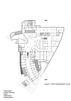 ARG Shopping Mall,First basement Plan