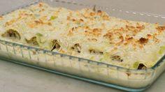 Eén - Dagelijkse kost - gerolde cannelloni met lamsgehakt en kaas-preisaus