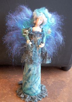 Hand crafted fairy doll.
