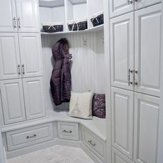 Corner Locker Design Ideas, Pictures, Remodel and Decor: