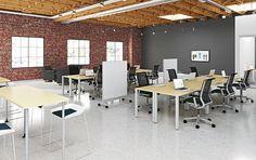 urban style office design - Google Search