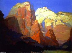 Pinnacle Rock, dans l Utah - (Franz Bischoff)