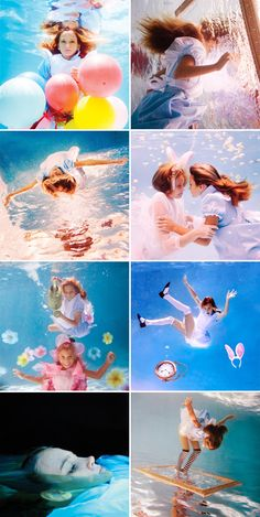 『Alice in Waterland』 Underwater Photos, Underwater World, Underwater Photography, Fine Art Photography, Photography Tips, Fashion Photography, Portrait Photography, Stunning Photography, Pretty Pictures