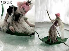 """A Thumb Princess"" by Kim Jung Han for Korea Vogue (2006)"