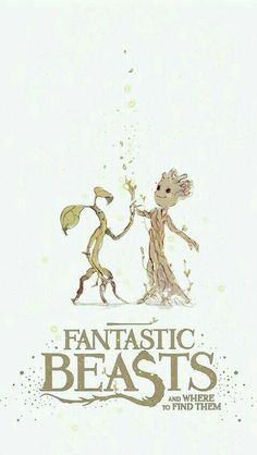 Fantastic beast and gurdian of the galaxy ceoss over