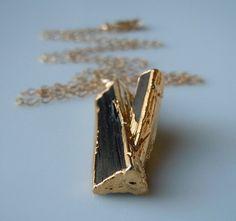 Unique Tourmaline Necklace  www.etsy.com/shop/443Jewelry