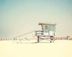Beach Photography Canvas Art Hermosa Beach by BreeMadden on Etsy