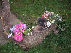 Litha Altar 2007 - another simple altar