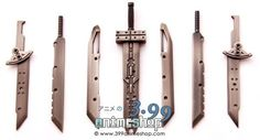 Cloud Strife Buster Sword Replica (7 pc/set) Final Fantasy VII
