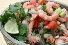 Mommy's Kitchen - Country Cooking & Family Friendly Recipes: Shrimp Ceviche